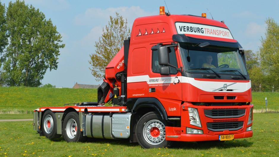 Nieuwe website voor Verburg Transport!